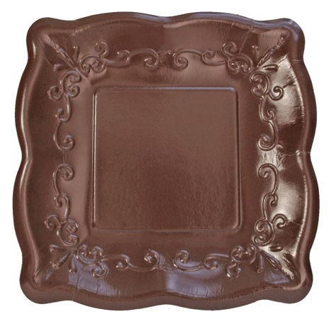 scalloped plates