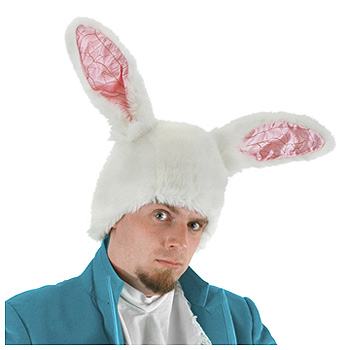 white rabbit ears