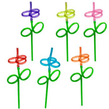 flower straws