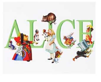 alice party invitations