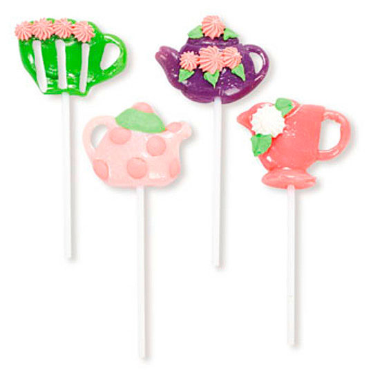 tea party lollipops