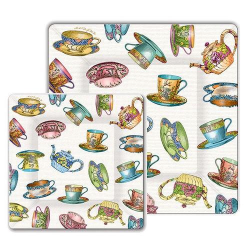 tea cup plates