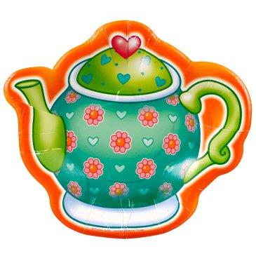 tea pot plates