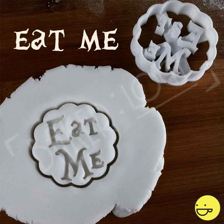 alice in wonderland cookie cutter