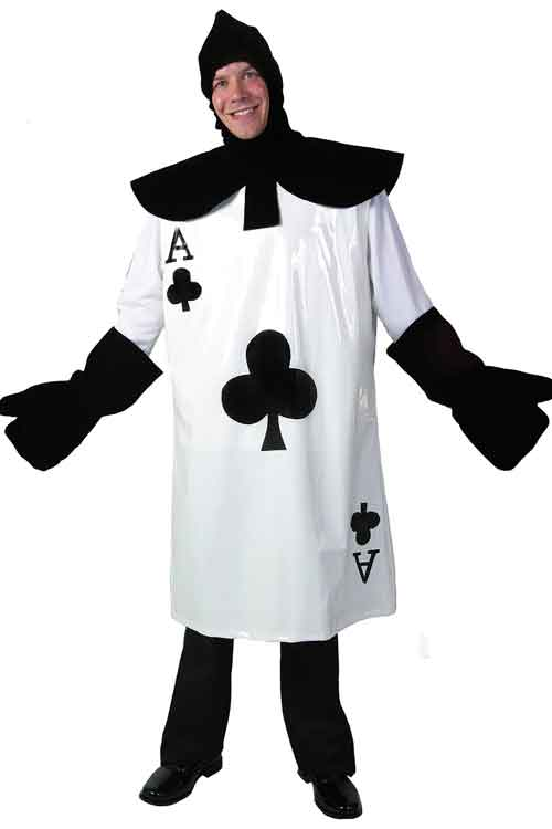 playing card man costume