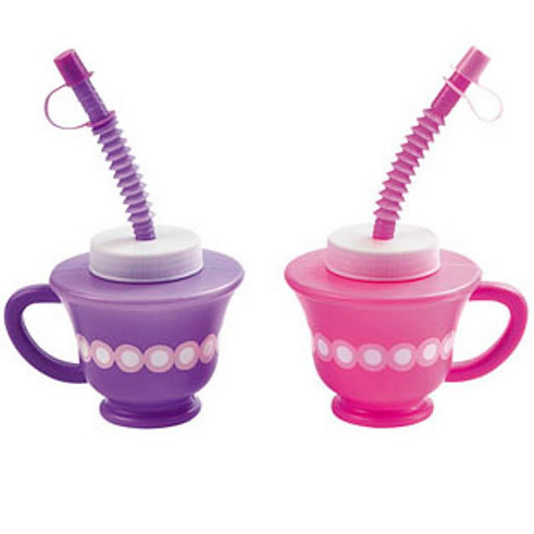 tea cup sippers