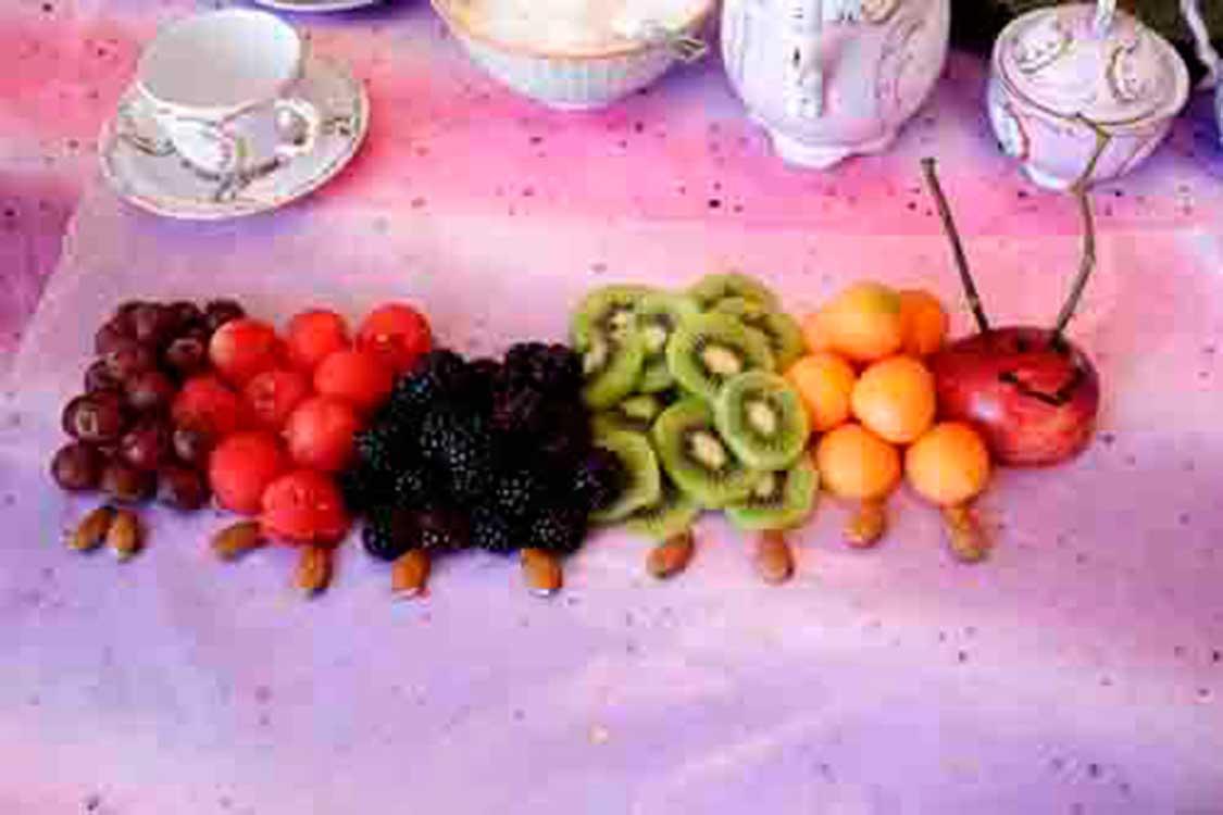 fruit caterpillar