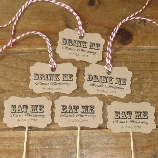 eat me drink me tags