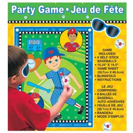 baseball party games