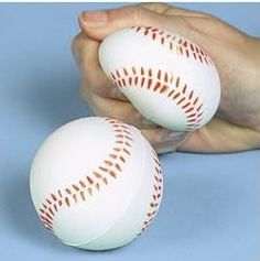 relaxable baseballs