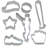 baseball cookie cutters