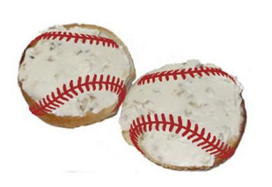 baseball sandwiches
