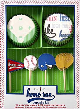 baseball cupcake decorations