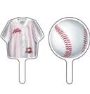 baseball cake toppers