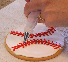 baseball cookie recipe