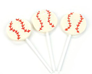 baseball lollipop