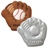 baseball glove cake pan