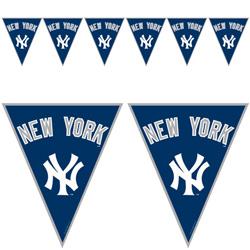 baseball pennant banner