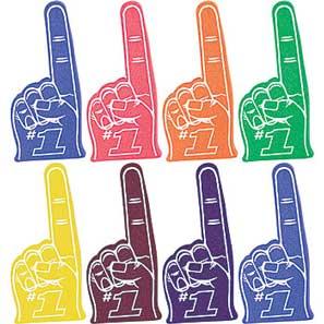foam fingers