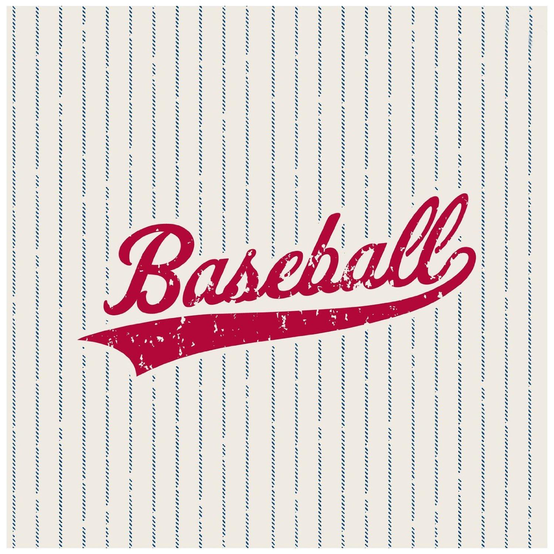 baseball napkins