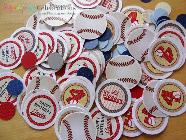 baseball confetti