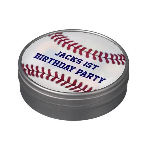 baseball candy tin