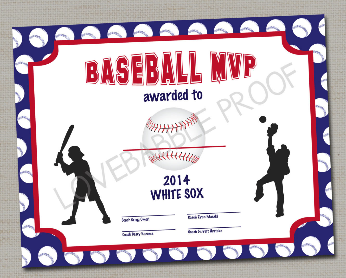 Baseball party games by a professional party planner for Baseball award ideas
