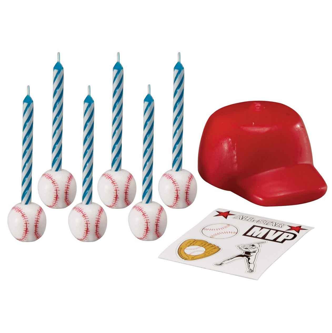 baseball candles