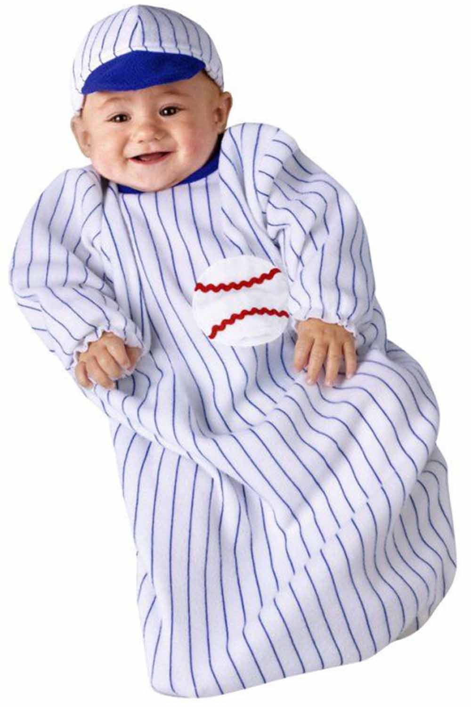 baby baseball costume