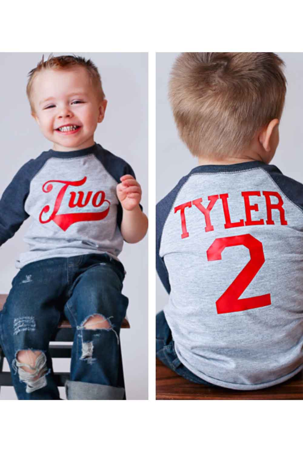 personalized baseball shirt