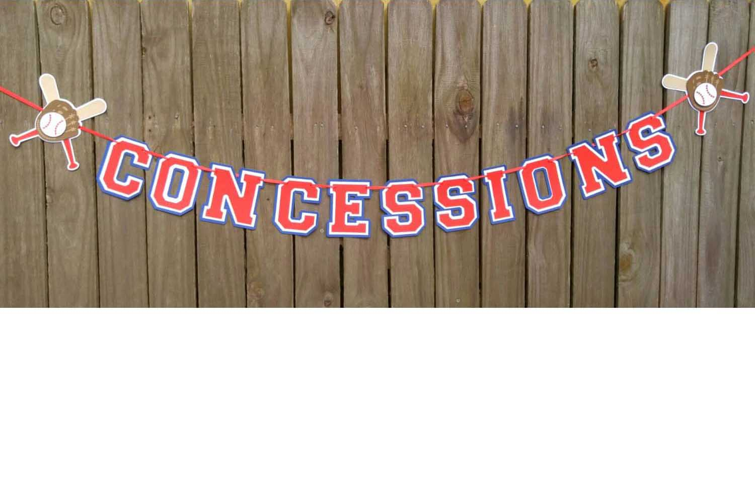 concessions banner
