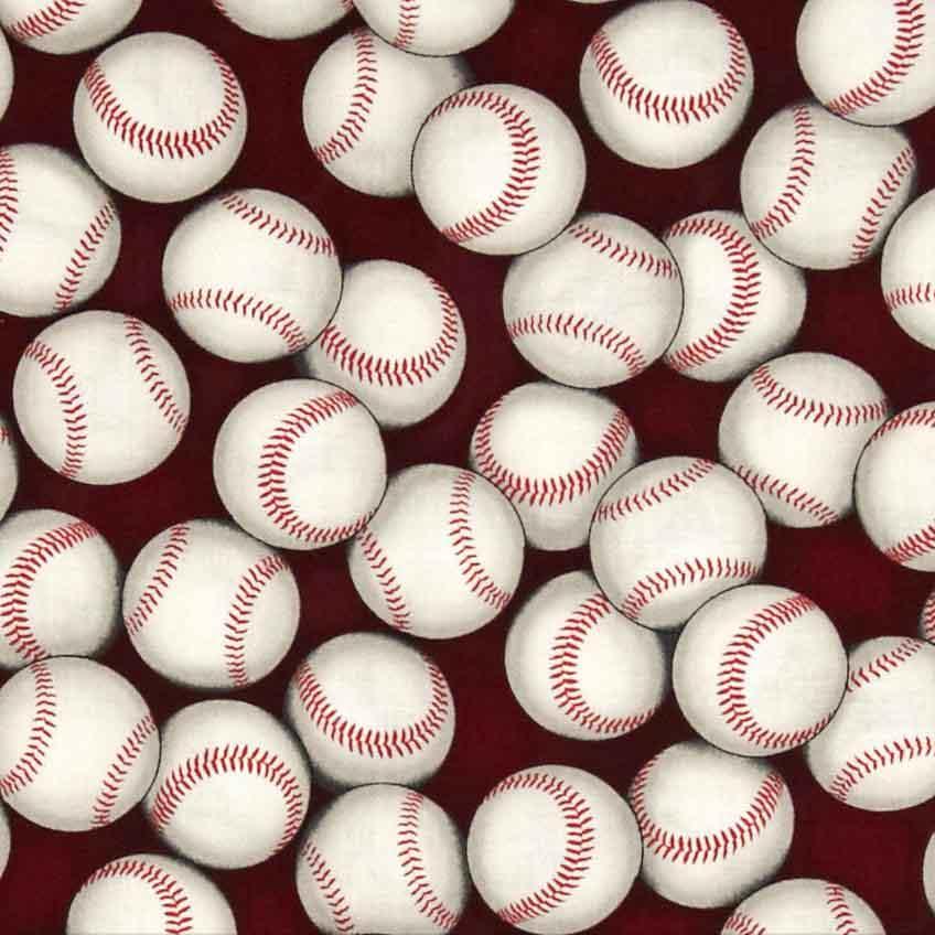 baseball fabric