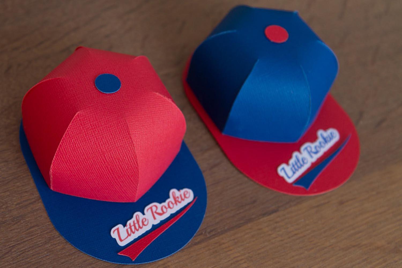 baseball cap party favor box