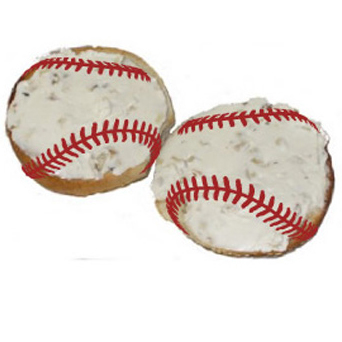 baseball bagels
