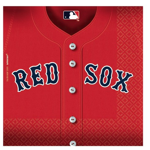 boston red sox team party plates