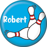 bowling button