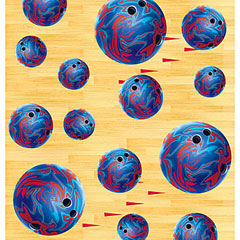 bowling tablecover