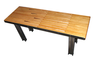 bowling lane table