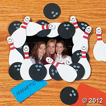 bowling photo frames