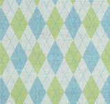 retro argyle fabric