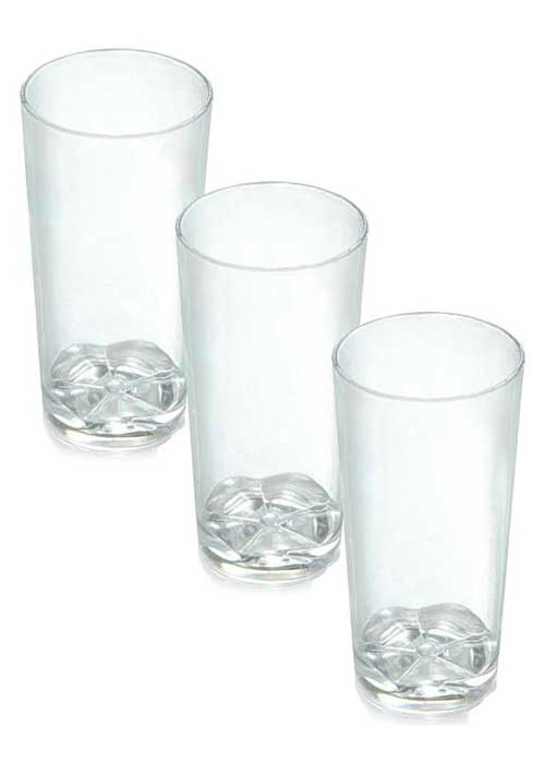 Disposable plastic shooters