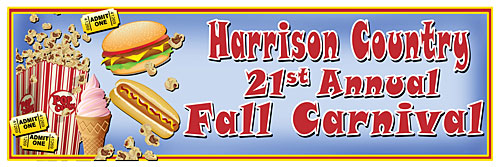 fairground banner
