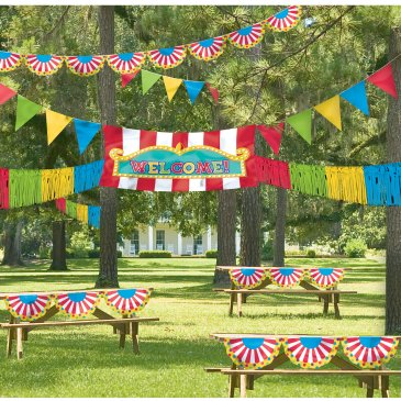 carnival party decorations