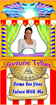 fortune teller booth