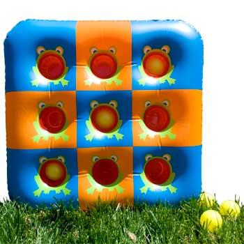 carnival ball toss game