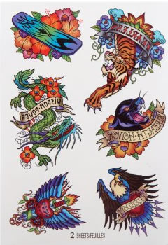 carnival tattoos