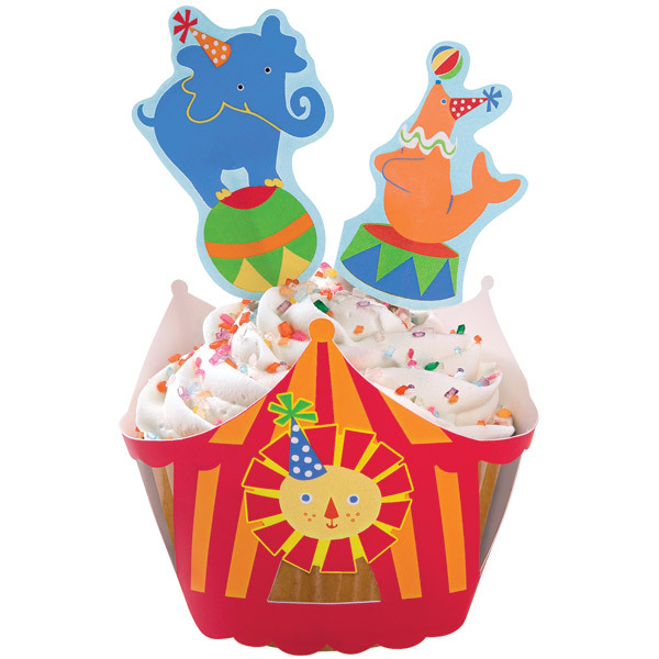 circus cake decorations