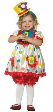 girls clown costumes