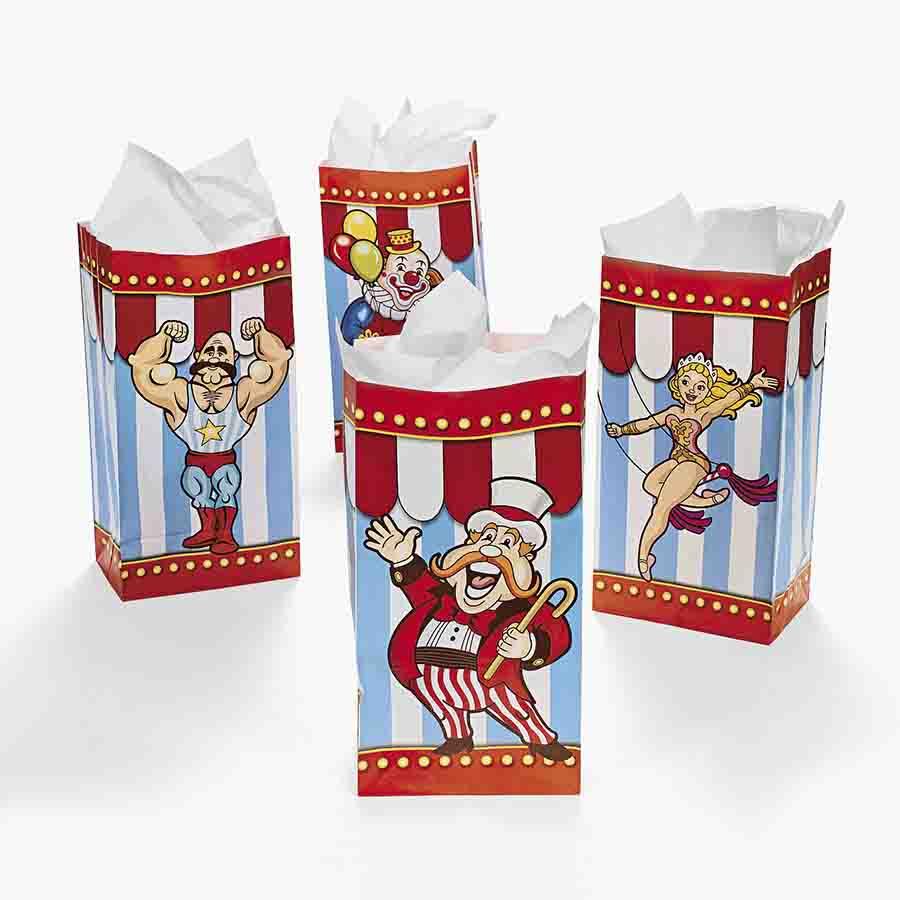 carnival favor bags