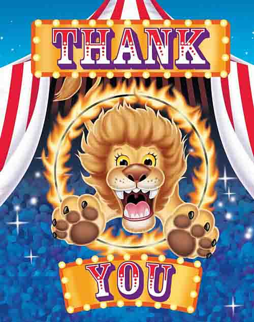 carnival thank you notes